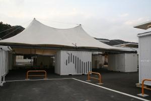 マーケット(女川町:坂本龍一氏寄贈)